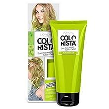 L 'Oreal lavado colorista, color verde neón semipermanente pelo, 80 ml