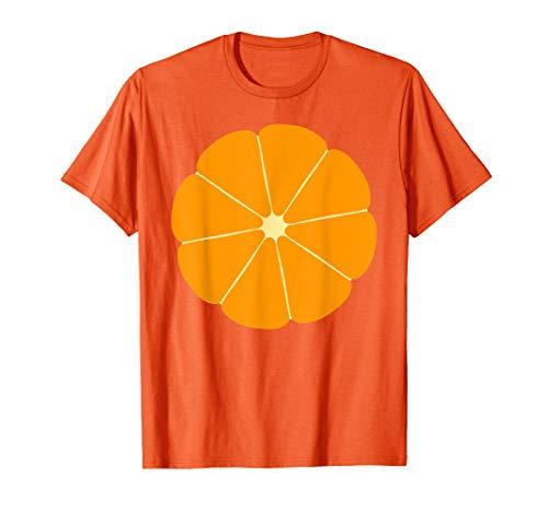 Funny Orange Fruit Halloween Costume T-shirt -