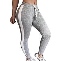 GoodLock Women Casual Pants Striped Drawstring Pants Women Bowtie Casual Sports Pants