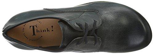 Think Kong City - Zapatos Hombre Negro - Schwarz (Schwarz 00)
