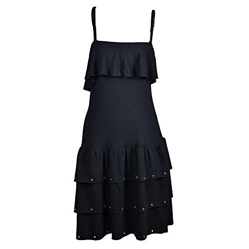 Poizen Industries - Vestido - para mujer negro