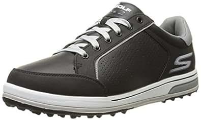 Skechers Performance Men's Go Golf Drive 2 Golf Shoe,Black/White,7 M US
