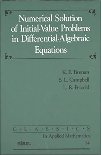 Numerical Solution of Initial-Value Problems in Differential ...