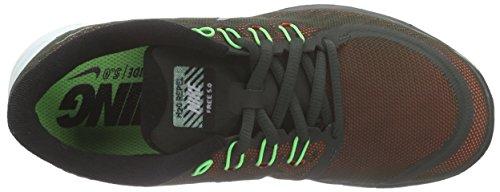 Nike Women's Free 5.0+ Laufschuh Sequoia Reflektierend Silber Spannung Grün 300