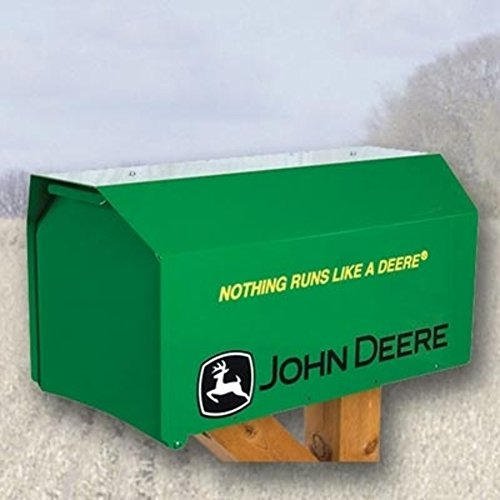 John Deere Nothing Runs Like a Deere Heavy-Duty Estate Mailbox - (Estate Mailbox)