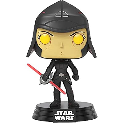 Funko Pop! Star Wars Rebels: Seventh Sister #167 (Walmart Exclusive) Vinyl Figure (Bundled with Pop BOX PROTECTOR CASE): Toys & Games