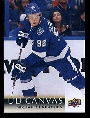 2018-19 UPPER DECK SERIES 1 #164 Mikhail sergachev-Tampa Bay Lightning