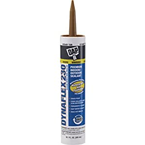 Dap 18412 Dynaflex 230 Premium Elastomeric Latex Sealant 10.1-Ounce