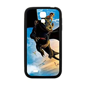 Monster bat and man Cell Phone Case for Samsung Galaxy S4 by runtopwell