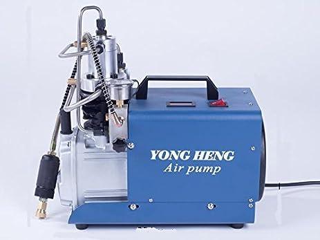 110v 220v 300bar 30mpa 4500psi high pressure air pump electric air compressor for pneumatic airgun scuba