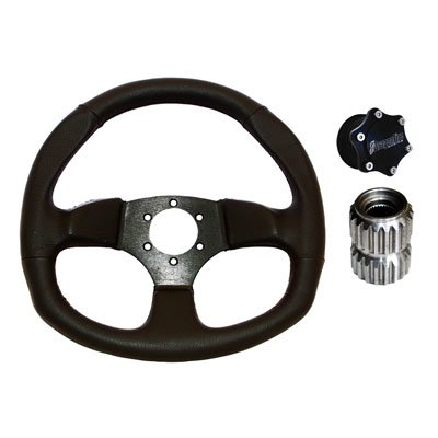 Dragonfire Racing Vinyl D Quick-Release Steering Wheel Kit f
