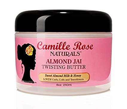 Camille Rose Naturals Almond Jai Twisting Butter, 8 Ounce 851557003088