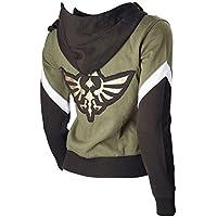 The Legend of Zelda Link Hooded Hyrule Warriors Zipper Coat Jacket (Ya-Cos)