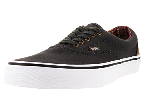Vans Unisex Era (Indo Pacific) Dark Shadow/True White Sneaker Men's 8, Women's 9.5 Medium