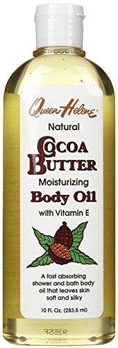 Queen Helene Cocoa Butter Body Oil - 10 oz (Cocoa Butter Massage Oil)