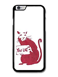 """AMAF ? Accessories Banksy Don't Lie Street Art case for iPhone 6 Plus (5.5"""")"""