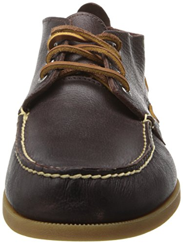 Sperry Top-sider Para Hombre A / O Boardwalk Chukka Boat Shoe Oxblood
