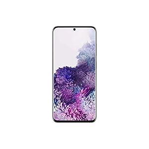 "Samsung Galaxy S20 (SM-G980F/DS) Dual SIM 128GB, 6.2"" Display, Factory Unlocked GSM, International Version - No Warranty - Cloud Gray"