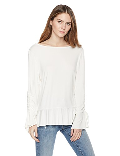 Painted Heart Women's Tie Sleeve Top