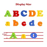 JCREN Magnetic Alphabet Magnets Letters and Numbers
