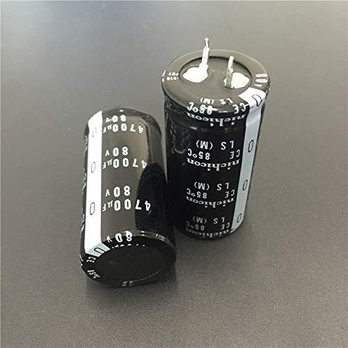 35 mm x 30 mm Nichicon LLS Snap-in condensateur électrolytique 470 uF @ 350 V