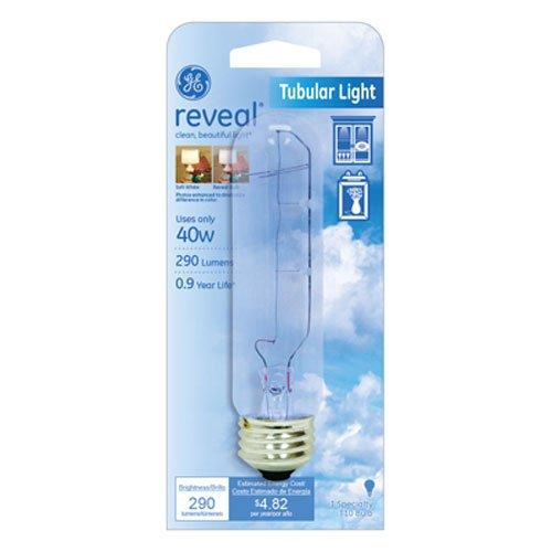 ge 40w reveal bulbs - 6