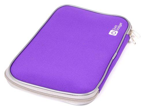 DURAGADGET Purple Travel Range Water Resistant Laptop Sleeve - Suitable for Samsung 400B2B 12.5
