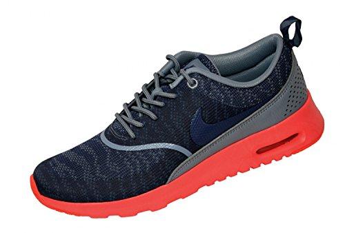 Nike Air Max Thea Jacquard - Zapatillas de deporte Mujer azul cool azul legend hot lava 400