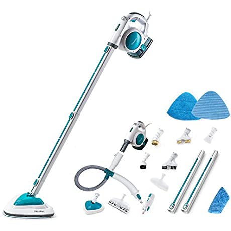 Neatec Steam Mop USM18B Upright And Handheld Steam Cleaner Blue