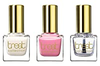 treat collection Natural Trio Nail Polish, So Sweet, 3 Count