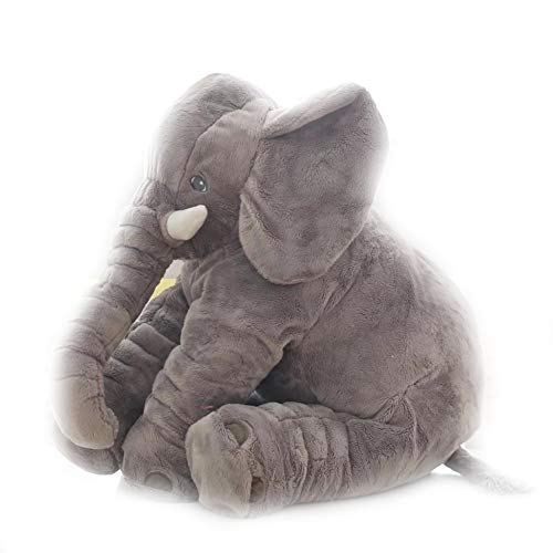 ZQQXV 40/60CM Elephant Plush Pillow for Sleeping Stuffed Animals Playmate Gifts for Children