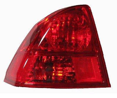 2003 - 2005 Honda Civic (4 Door Sedan Only) Driver Taillamp Taillight NEW 33551-S5B-A01 HO2800153 Civic 4dr 4 Door Sedan