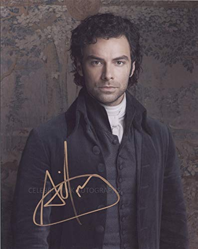 AIDAN TURNER as Ross Poldark - Poldark GENUINE AUTOGRAPH