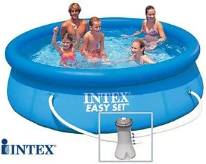 INTEX Easy Set - Piscina Autoestable 3,05 cm x 0,76 m Con depuradora