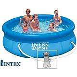 INTEX Easy Set - Piscina Autoestable 3,05 cm x 0,76 m Con depuradora