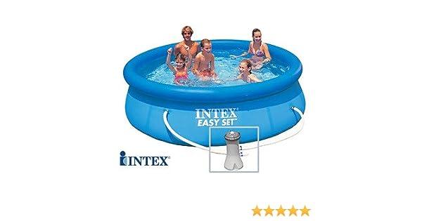 INTEX Easy Set - Piscina Autoestable 3, 05 cm x 0, 76 m Con ...