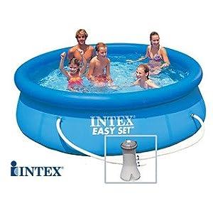 INTEX Easy Set – Piscina Autoestable 3,05 cm x 0,76 m Con depuradora