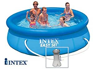 INTEX Easy Set - Piscina Autoestable 3, 05 cm x 0, 76 m Con ...