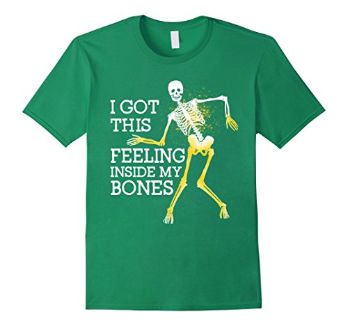 Funny Halloween Ideas For Men (Mens halloween costumes ideas funny tshirt I got this feeling XL Kelly Green)