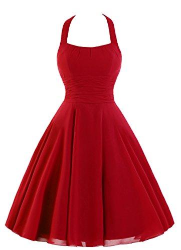 Vestito Bridal Mall Rosso Donna Mall Vestito Bridal qaICwF