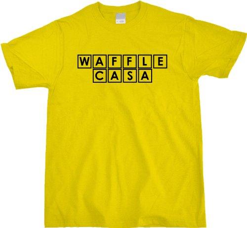 WAFFLE CASA Unisex T-shirt Funny Spanish Take on the House of Waffle