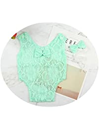 Newborn Infant Baby Photography Props Girls Lace Bow Vest...