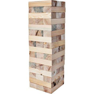 48 Piece Giant Block Tower Game Set by LumberStak by LumberStak