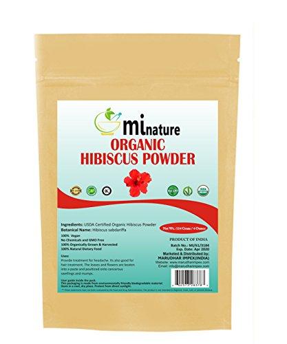 mi nature Hibiscus Powder Zip Lock Pouch, - Zip Leaf