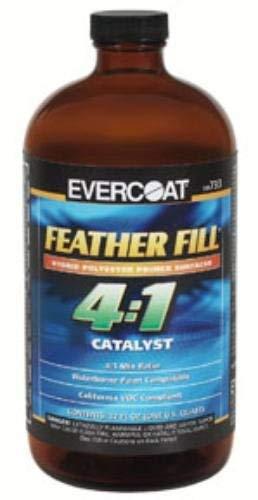 Evercoat Fibre Glass Feather Fill 4:1 Catalyst, Quart (FIB-733) by Evercoat