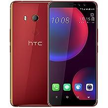 HTC U11 EYEs (2Q4R100) 4GB / 64GB 6.0-inches LTE Dual SIM Factory Unlocked - International Stock No Warranty (Solar Red)