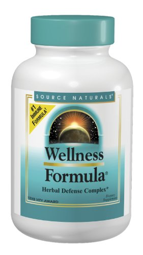 Source Naturals Wellness Formula Capsules 240 Count