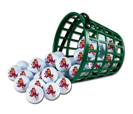 Wincraft NCAA Arizona State University Bucket of 36 Golf Balls