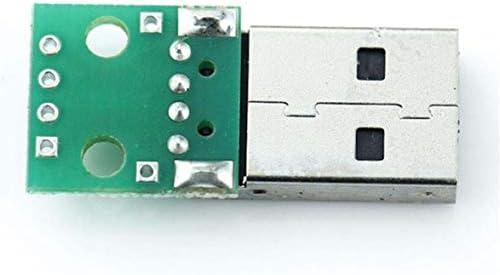 Tivollyff USB to DIP Adapter Converter 4pin for 2.54mm PCB Board DIY Power Supply環境に優しい素材