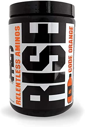 GCode Rise Relentless Aminos Code Orange Recovery Elixir for Muscle Recovery, Electrolytes and Hydration- 30 Servings